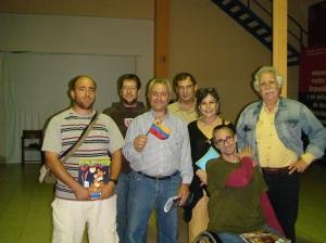 Algunos asistentes a la conferencia en Barcelona, España