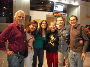 Isidoro Duarte, Mónica Montañés, Geisy Rojas, Mónica Chalbaud, Luis Figueroa y Elio Palencia/Celarg 12 de junio de 2009/Caracas