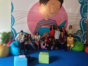 Nuestro III Taller de sensibilización poética se realizó en el Pabellón Infantil de La Feria, sábado 27 de julio 10 am